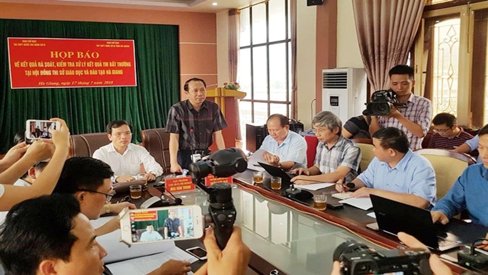Khởi tố vụ nâng điểm cho 114 thí sinh Hà Giang